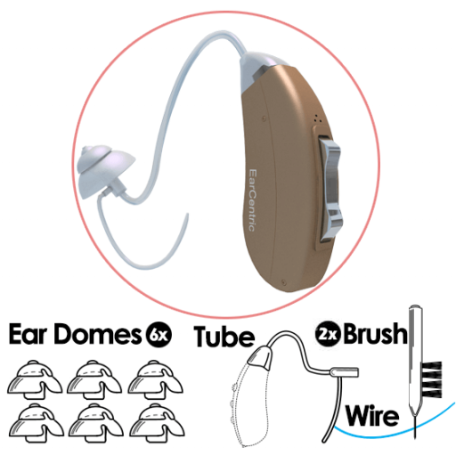 SYMPHONY200® Accessory Value Package - Thin Ear Tube Configuration