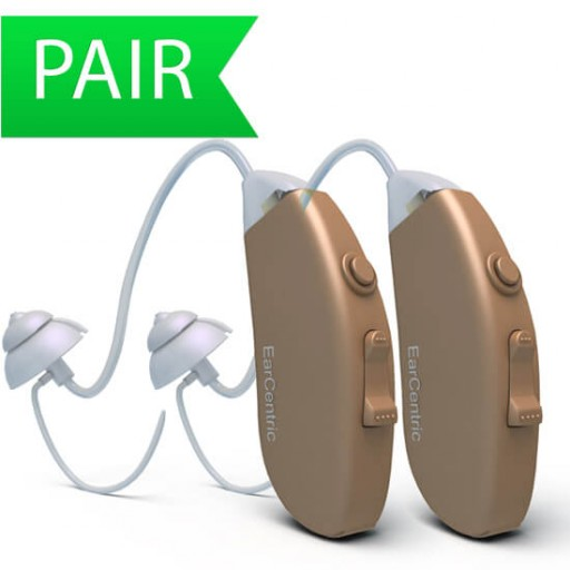 Behind-The-Ear Hearing Aids Affordable Prices - Beige - Pair - BTE