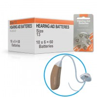 Hearing Aid Batteries for MELODY® Hearing Aid - Size 13 (60 pcs)