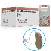 Hearing Aid Batteries for SYMPHONY200® Hearing Aid - Size 13 (60 pcs)