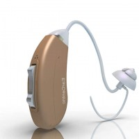 Advanced Hearing Aid no MD test required - Behind-The-Ear BTE - Left Ear - Beige