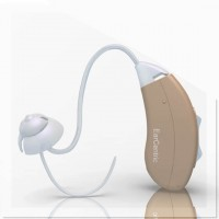BTE Hearing Aid with High Frequency Hearing Amplication Presets - Right Ear - Beige