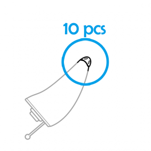 10x Earwax Guards for AIR® CIC Hearing Aids