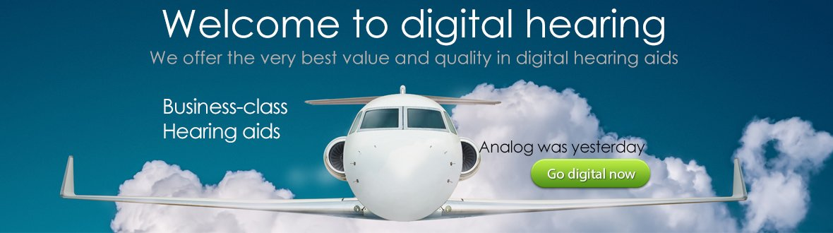 Business Class - Advanced digital hearing aids